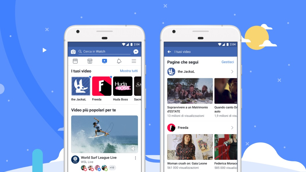 Facebook Watch arriva anche in Italia